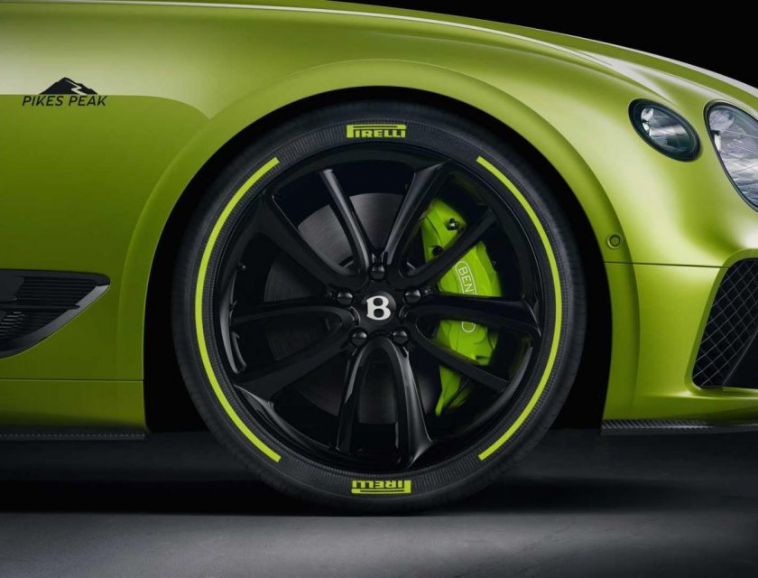 Bentley Continental GT Pikes Peak Edition 2020