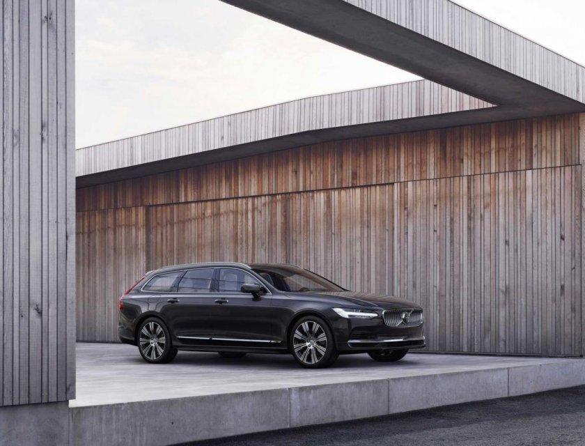 Volvo S90 y V90 2021