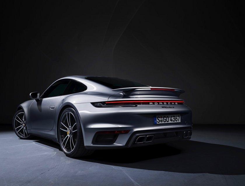 Porsche 911 Turbo S 2021