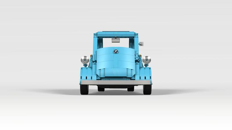 BMW Isetta de Lego