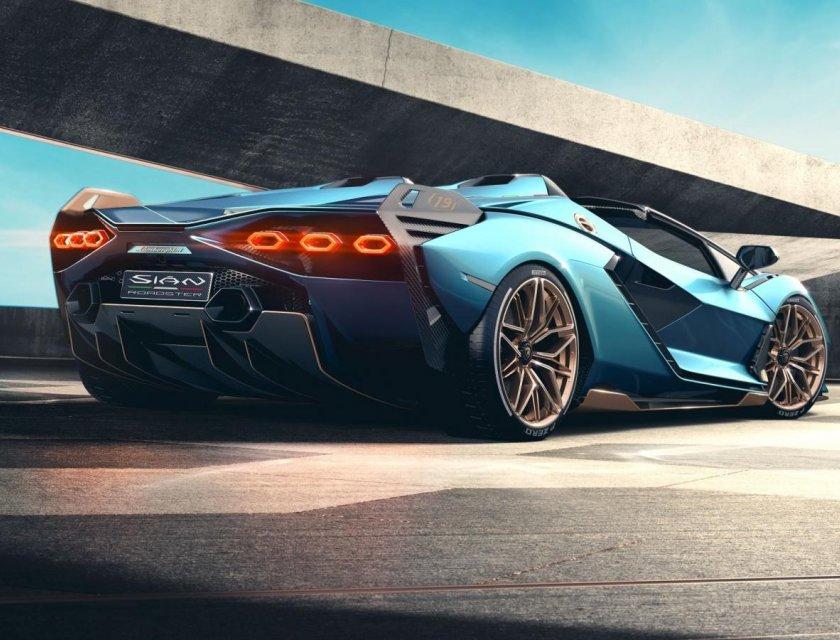 Lamborghini Sián Roadster 2021