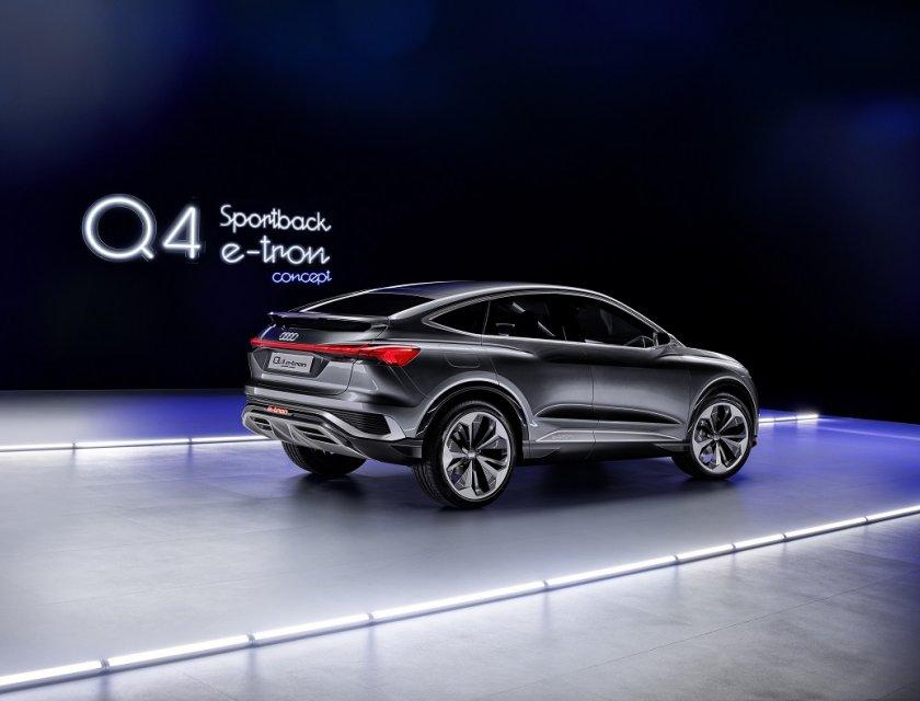 Audi Q4 e-Tron Sportback Concept 2021