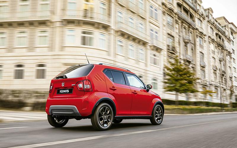 Renault Kwid Outsider Suzuki Ignis GL Manual 2021 comparativa