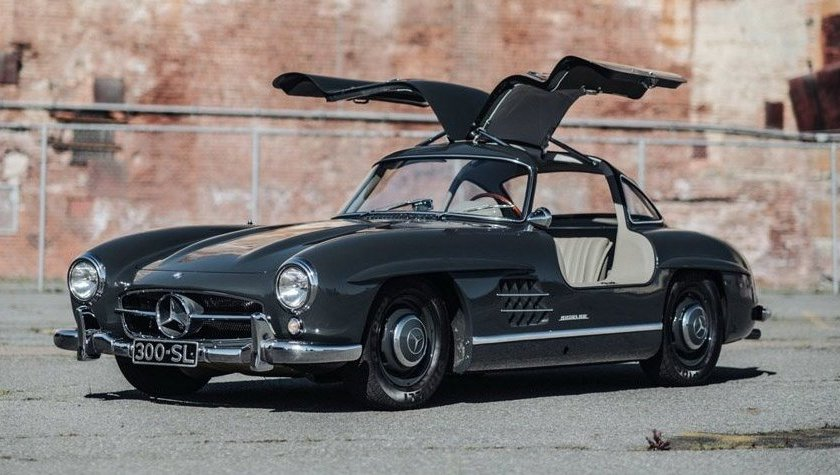 Imágenes de autos clásicos - Mercedes SL 300 Gullwing