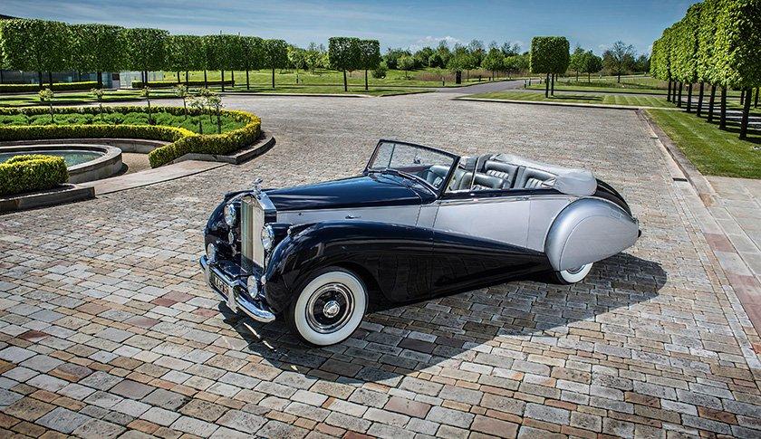 Imágenes de autos clásicos - Rolls-Royce Dawn Drophead