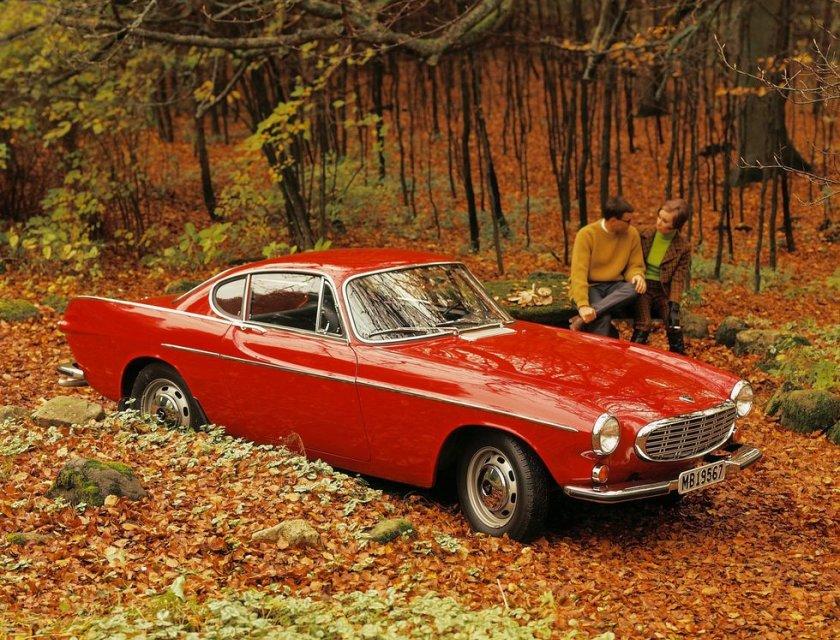 Imágenes de autos clásicos - Volvo P1800