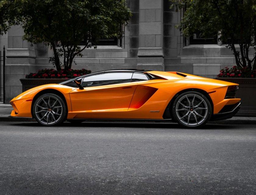 Imágenes de autos deportivos - Lamborghini Aventador