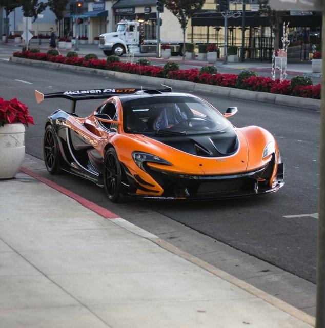 Imágenes de autos deportivos - McLaren P1 GTR