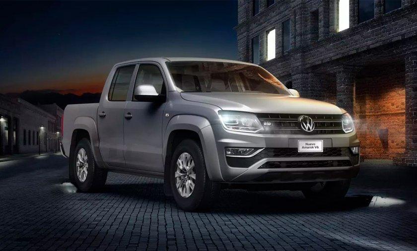 Volkswagen Amarok precio 1