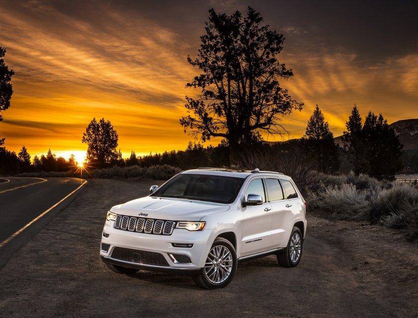 La Jeep Grand Cherokee precio tiene una gama de 8 versiones