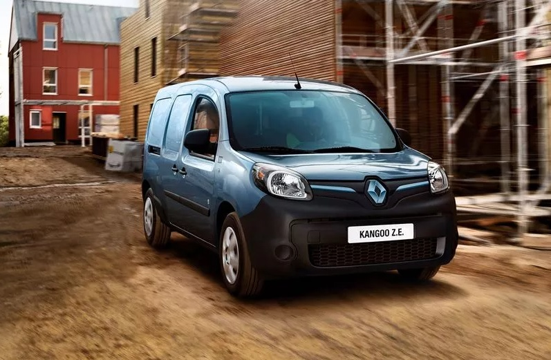 autos eléctricos - Renault Kangoo Z.E