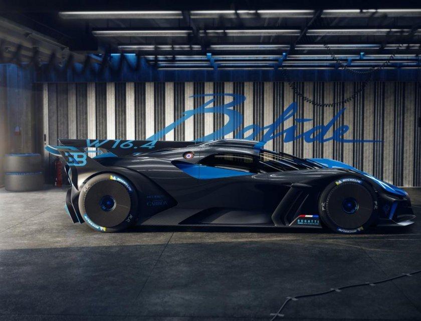 Bugatti Bolide 2021