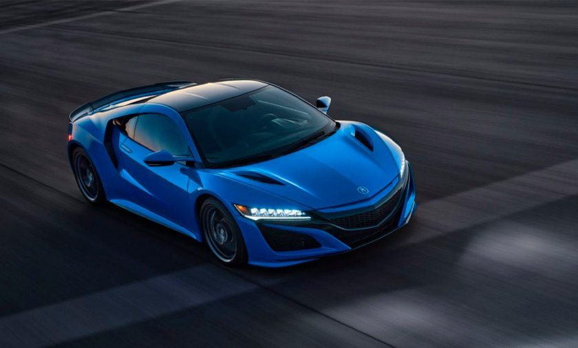Acura NSX Long Beach Blue 2021