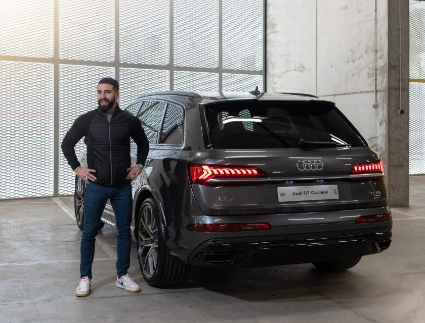 Audi renueva autos del Real Madrid