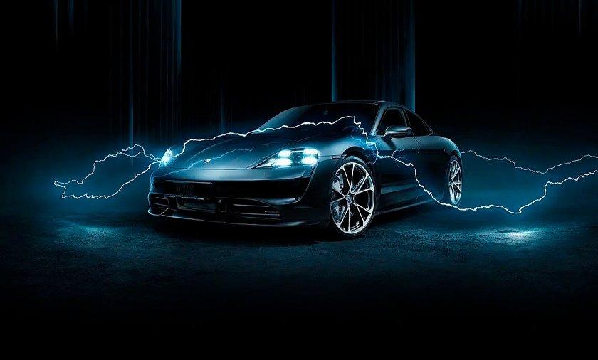 Porsche Taycan 2021 by Techart