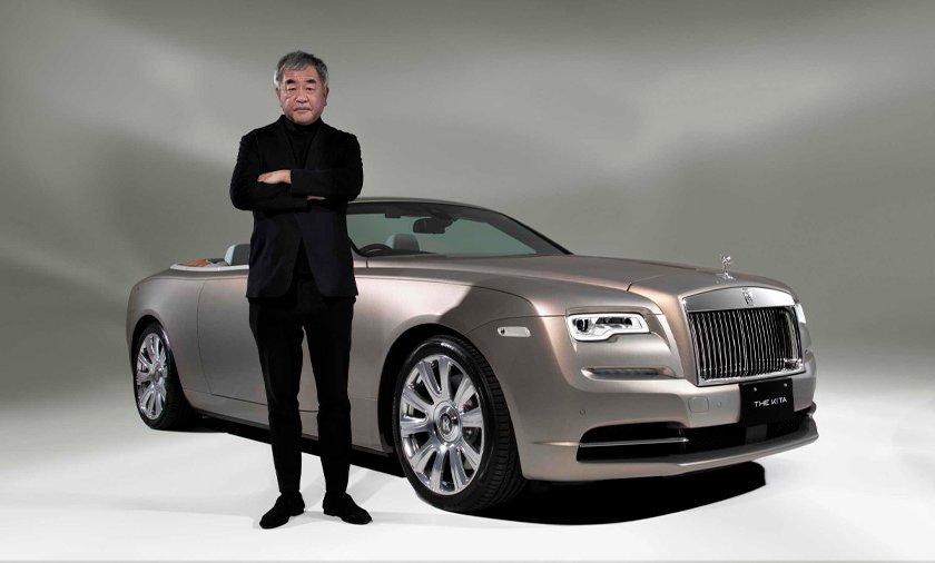 Rolls-Royce Dawn 2021 by Kengo Kuma