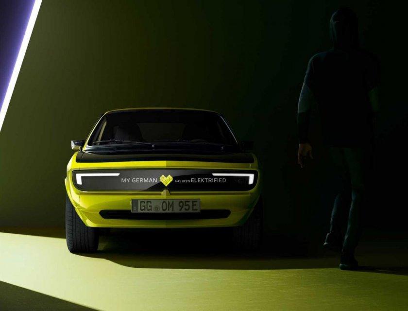 Opel Manta GSe ElektroMOD