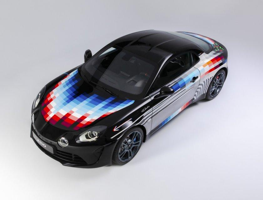 Alpine A110 x Felipe Pantone 2021