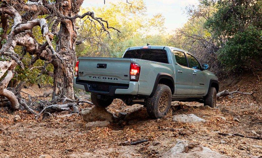 Toyota Tacoma Trail Edition y TRD Pro 2022