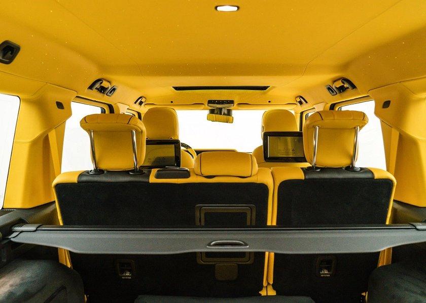 Mansory Gronos Yellow Mercedes-AMG G 63