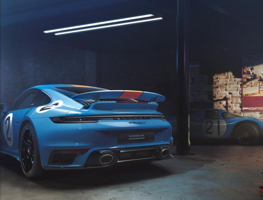 Porsche 911 Turbo S One of a Kind