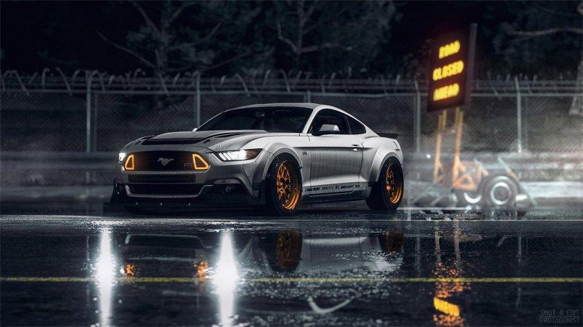 ¿En qué lugar se llevó a cabo la presentación del Ford Mustang concept?
