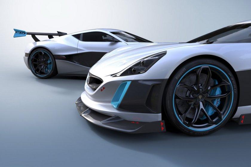 ¿Cuántos caballos de fuerza genera el Rimac Concept S de 2016?